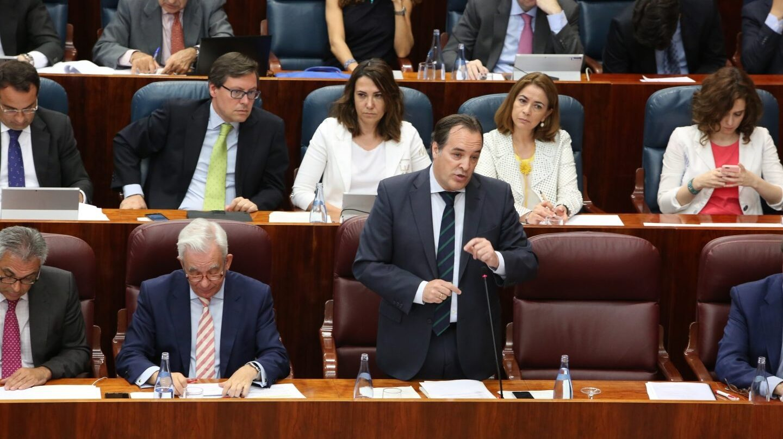 El consejero de Medio Ambiente de la Comunidad de Madrid, Jaime González Taboada.