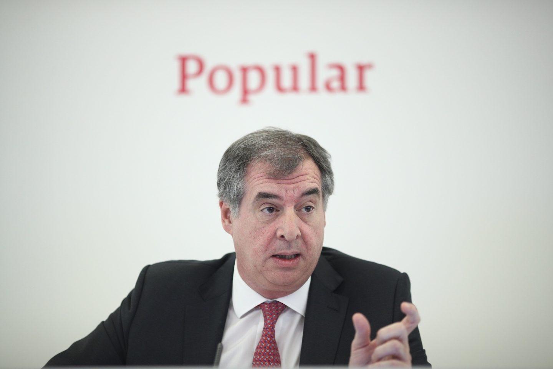 Ignacio Sánchez Asiaín, consejero delegado de Popular
