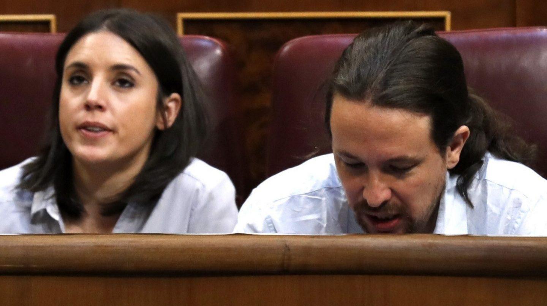 Irene Montero y Pablo Iglesias llevarán el peso de la moción
