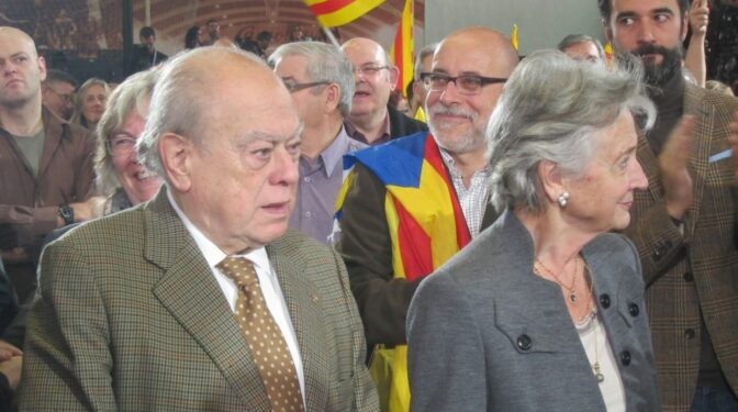 """La esposa de Jordi Pujol tiene una """"demencia"""" que anula su """"capacidad de juicio"""", según un informe médico"""