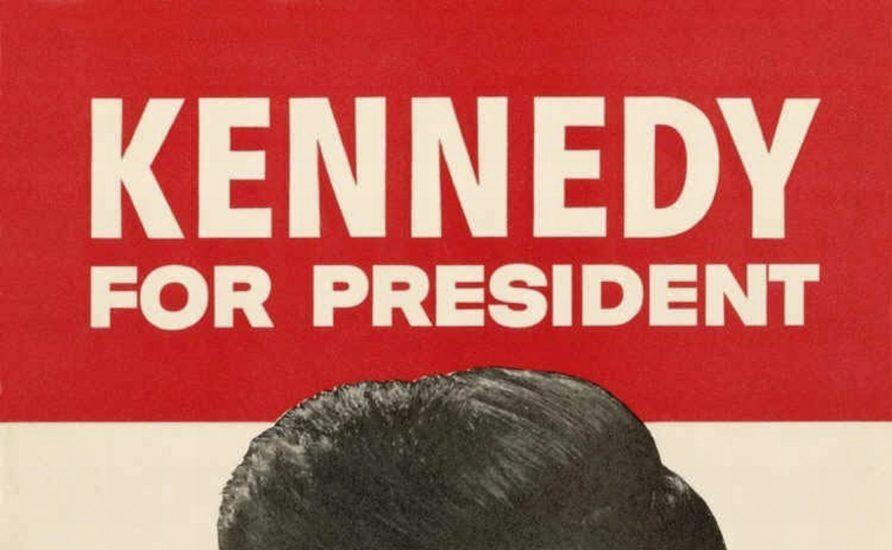 Cartel electoral de John F. Kennedy para los comicios de 1960.