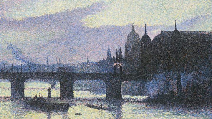 Maximilien Luce, Vista de Londres 1893