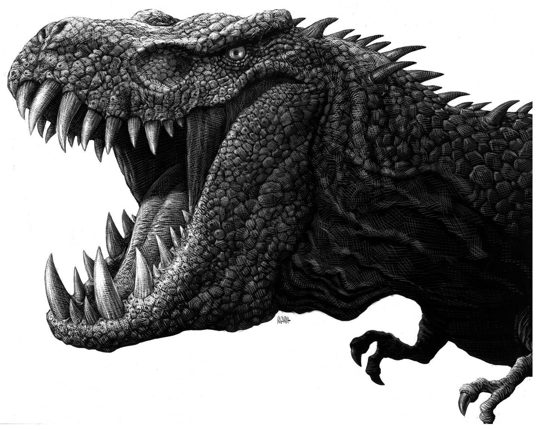 T Rex Parque Jurásico