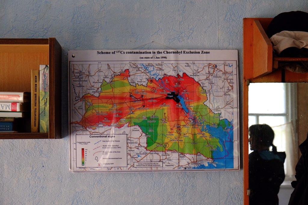 Los científicos han recogido ejemplares en 6 localizaciones en la zona de exclusión