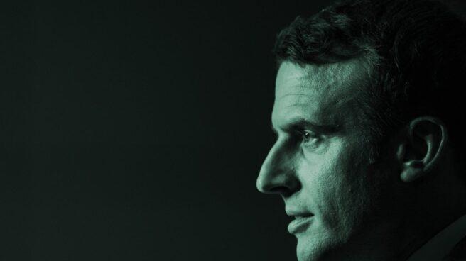 Emmanuel Macron, durante uno de sus discursos.