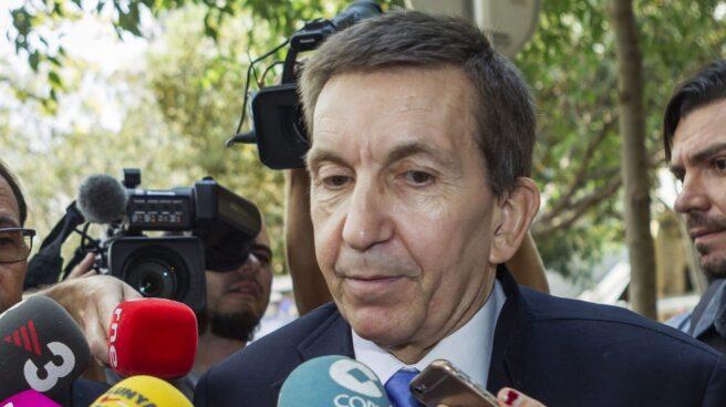 Manuel Moix, esta mañana en Palma de Mallorca.
