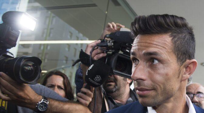 El futbolista Rubén Castro, absuelto de quebrantar una orden de alejamiento