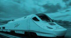 Modelo de tren Talgo 250.