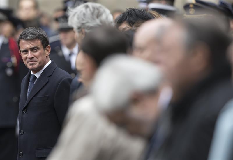 Manuel Valls en un acto reciente.