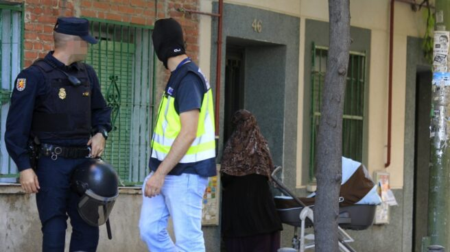 Detenidos dos yihadistas en Madrid.