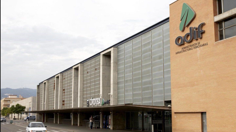 Uno de los aparcamientos de Adif, en la estación de AVE de Córdoba.