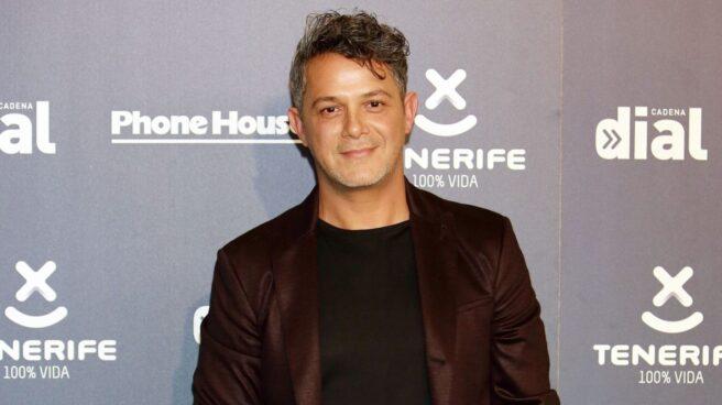 El cantante Alejandro Sanz