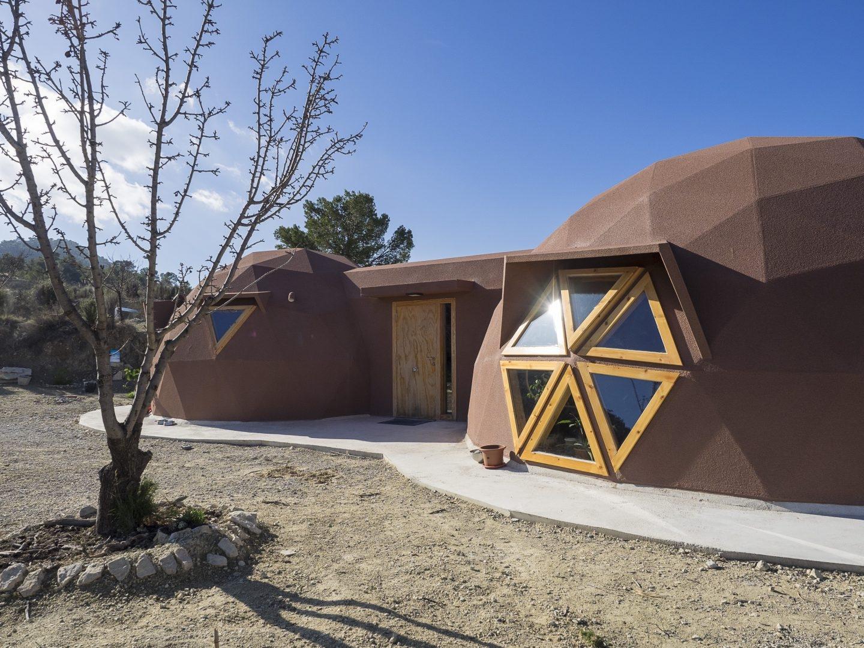 Vivir en una casa geod sica - Vivir en una casa de madera ...