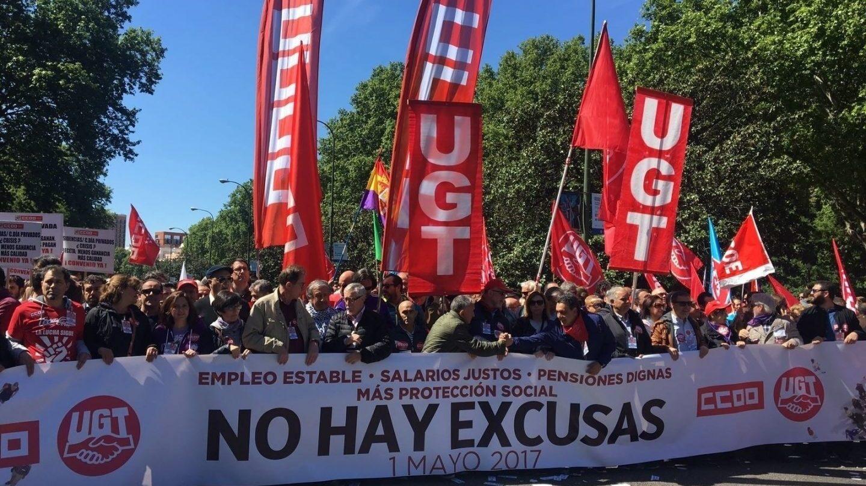 Manifestación del Primero de Mayo.