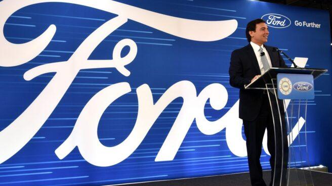 El consejero delegado de Ford, Mark Fields.