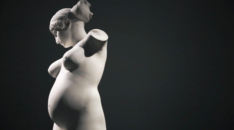 Venus embarazada