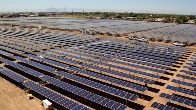 Imagen de una instalación fotovoltaica.