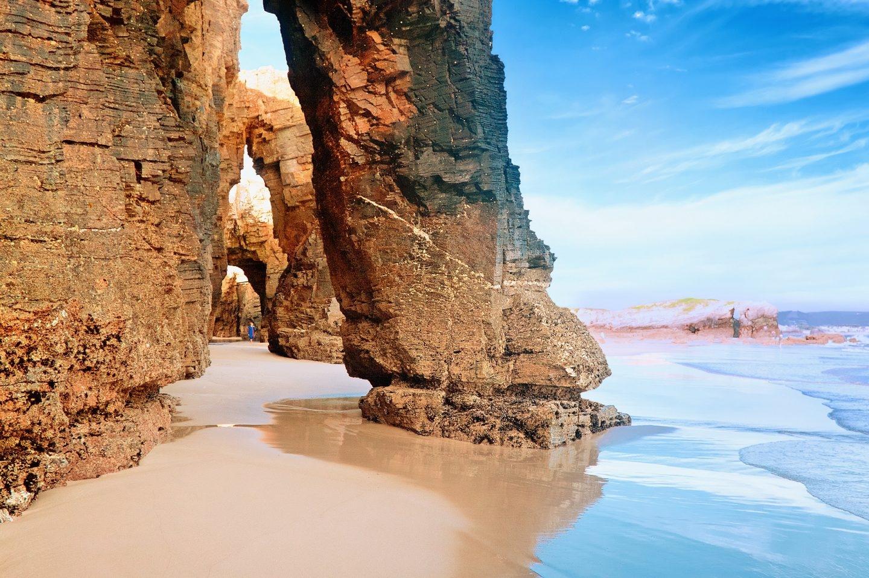 Playa de las catedrales, Galicia.