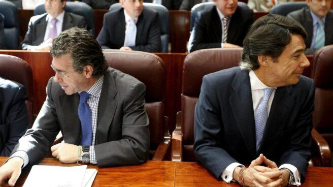 Francisco Granados e Ignacio González.
