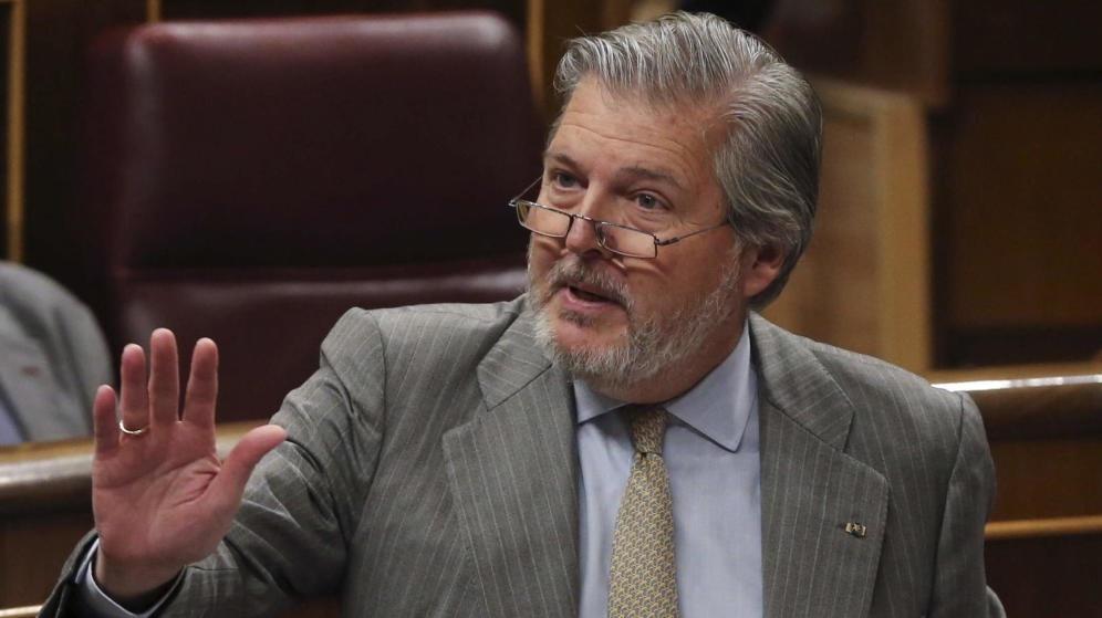 El ministro de Educación y Cultura, Íñigo Méndez de Vigo