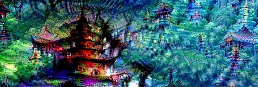 Imagen creada por una red neuronal de Google