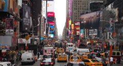 Tráfico en Manhattan, el corazón de Nueva York.