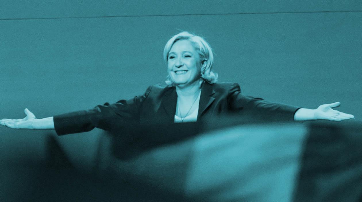 Marine Le Pen, candidata a presidir Francia.