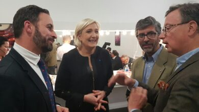 El amigo español de Marine Le Pen