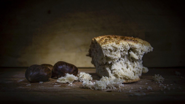 Mendrugo de pan con gluten