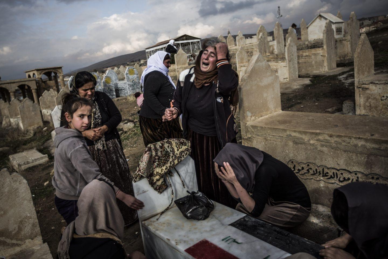 Mujeres yazidíes, el diablo del ISIS
