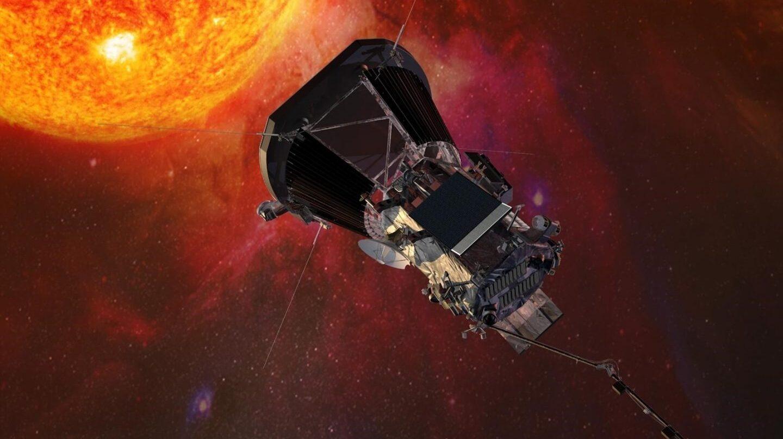 Recreación de la nave que será enviada al sol por la NASA