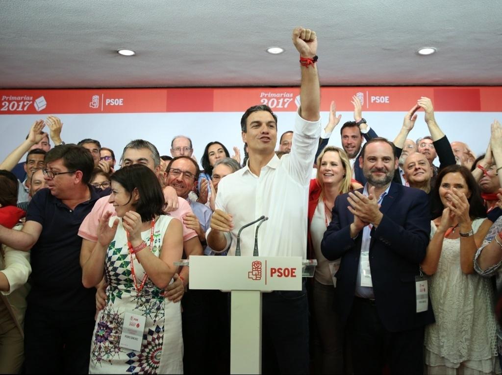 El recién elegido secretario general del PSOE, Pedro Sánchez.
