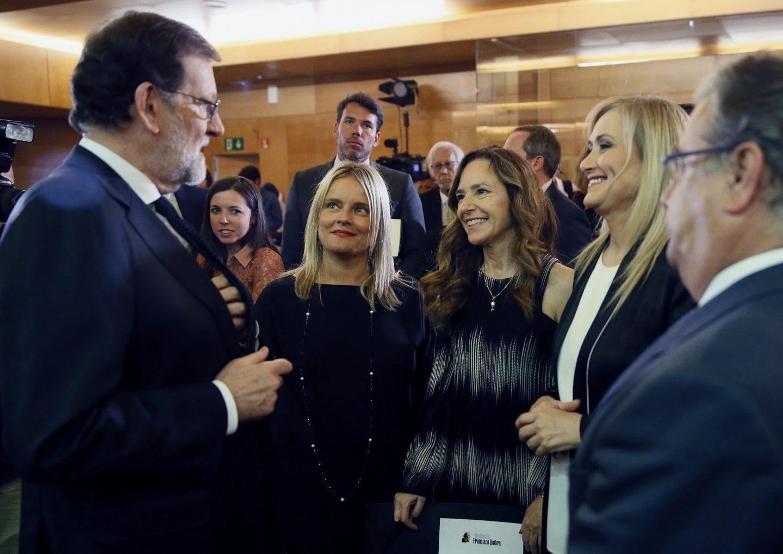 Rajoy avaló la estrategia de Cifuentes contra Ignacio González
