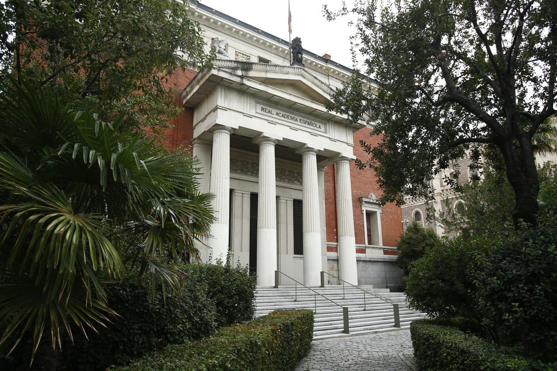 La Academia de la RAE.