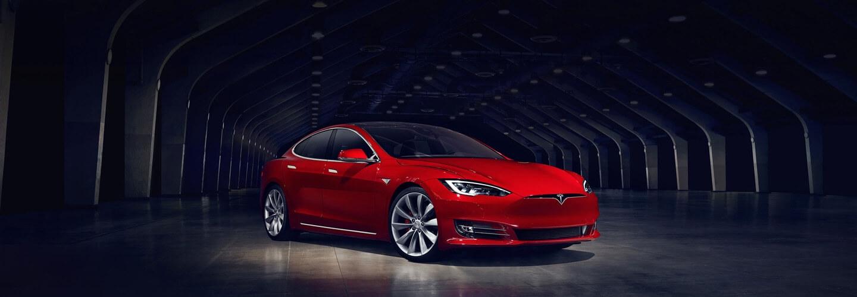 Modelo S de Tesla.