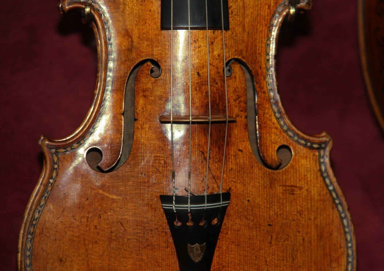 Desmontando los violines Stradivarius