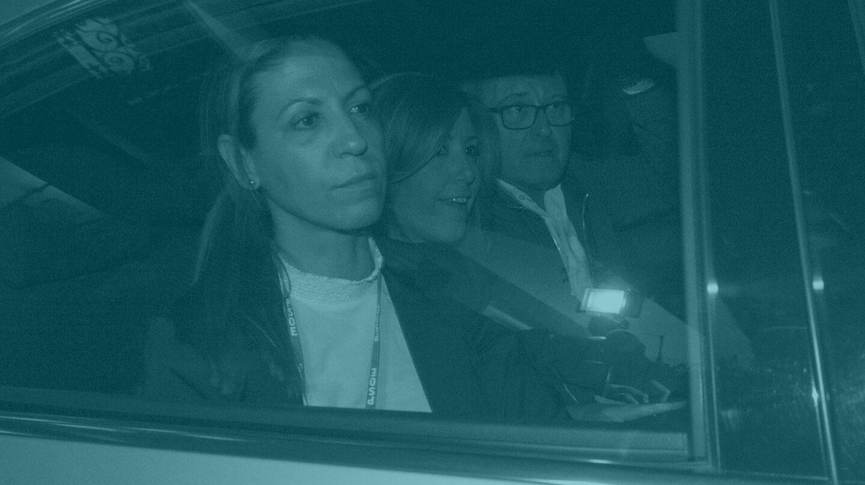 Susana Díaz abandona Ferraz.