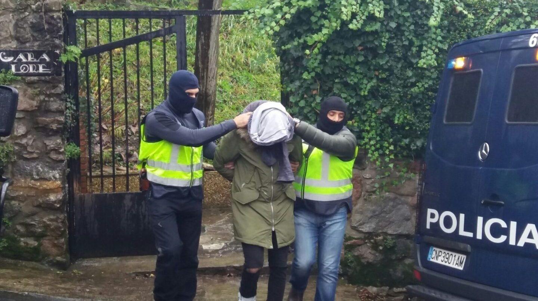 Detención de un ciudadano marroquí en San Sebastián acusado de la captación de yihadistas.