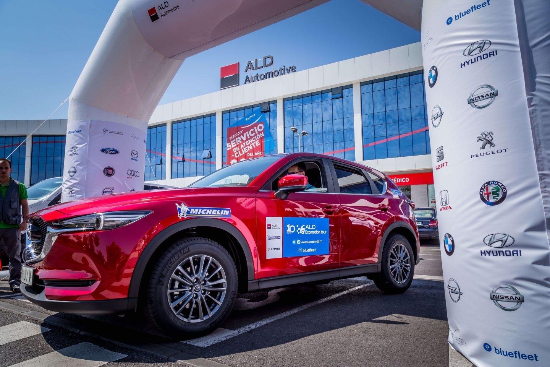 La salida de esta peculiar competición tuvo lugar, el pasado 1 de junio desde la sede de ALD Automotive en Majadahonda (Madrid).