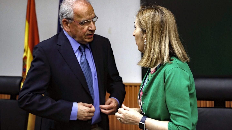 El ex vicepresidente del Gobierno y ex número dos del PSOE Alfonso Guerra.