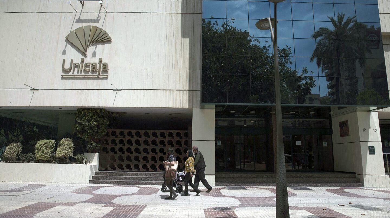 Sede de Unicaja en Málaga.