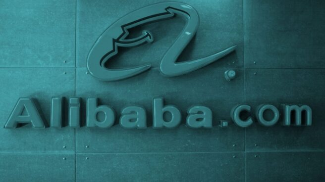 Logo de Alibaba.