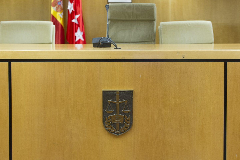 Sala de la Audiencia Provincial de Madrid