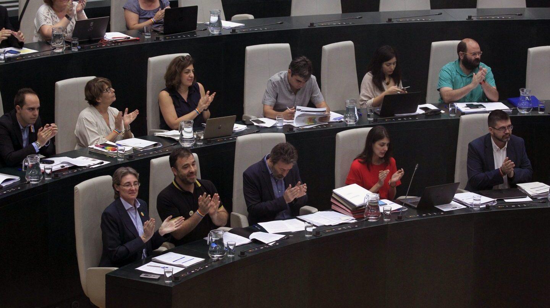 Pleno del Ayuntamiento de Madrid en el que se ha reprobado a Sánchez Mato y Mayer.