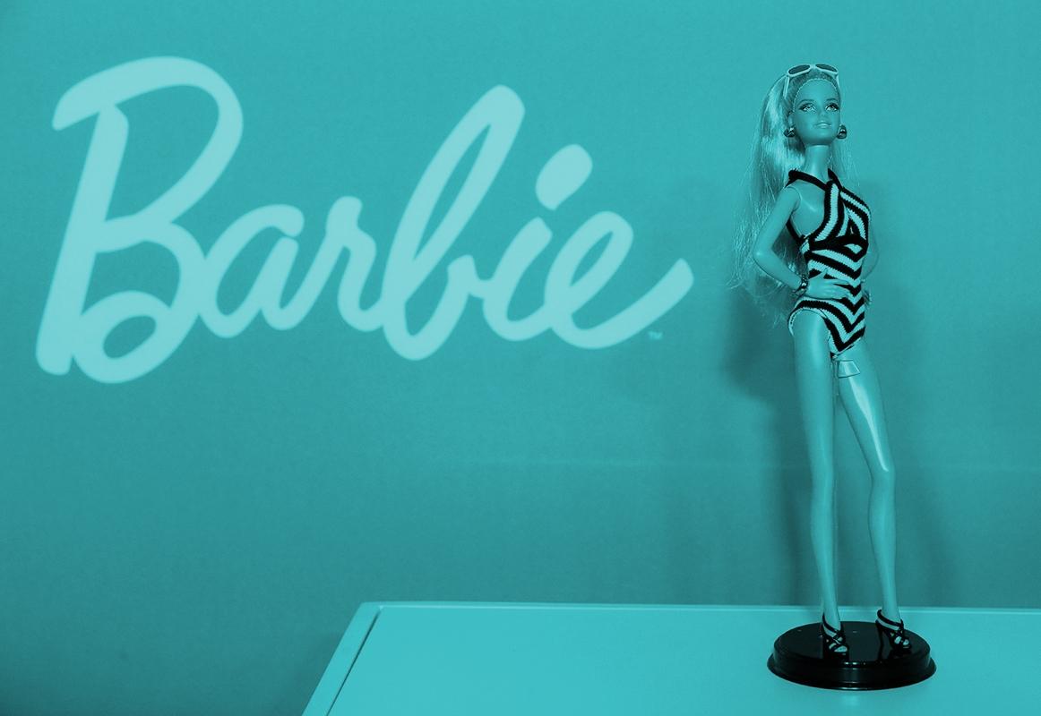 Barbie es el emblema principal de la juguetera Mattel.