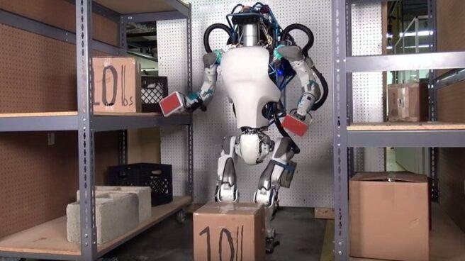 Atlas, una de las creaciones de Boston Dynamics.