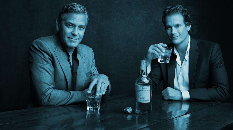 El actor George Clooney es uno de los fundadores de Casamigos, el fabricante de tequila adquirido por Diageo.