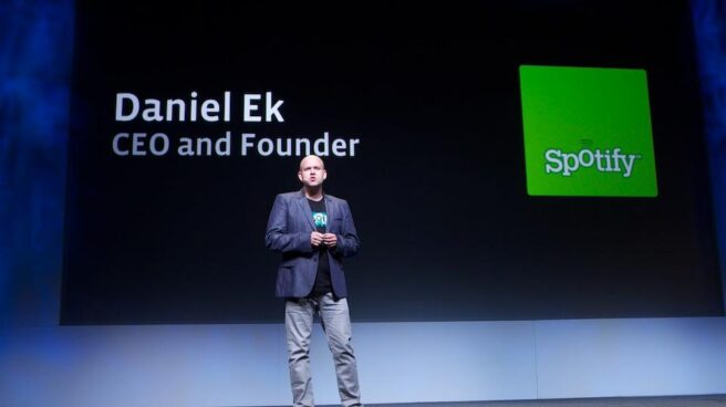 El CEO de Spotify, Daniel Ek.