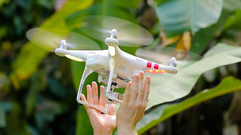 Dron de Microsoft.