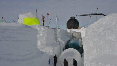 East-Grip, la base científica que viaja por Groenlandia